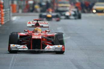 © Octane Photographic Ltd. 2012. F1 Monte Carlo - Practice 2. Thursday 24th May 2012. Fernando Alonso - Ferrari. Digital Ref : 0352cb1d6105