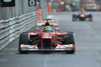© Octane Photographic Ltd. 2012. F1 Monte Carlo - Practice 2. Thursday 24th May 2012. Felipe Massa - Ferrari. Digital Ref : 0352cb1d6126