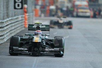 © Octane Photographic Ltd. 2012. F1 Monte Carlo - Practice 2. Thursday 24th May 2012. Vitaly Petrov - Caterham. Digital Ref : 0352cb1d6148