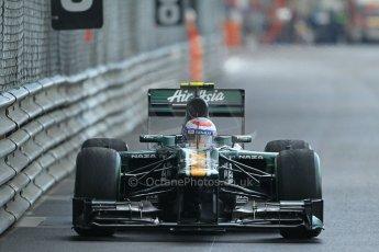 © Octane Photographic Ltd. 2012. F1 Monte Carlo - Practice 2. Thursday 24th May 2012. Vitaly Petrov - Caterham. Digital Ref : 0352cb1d6175