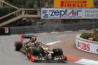 © Octane Photographic Ltd. 2012. F1 Monte Carlo - Practice 2. Thursday 24th May 2012. Kimi Raikkonen - Lotus. Digital Ref : 0352cb7d8008