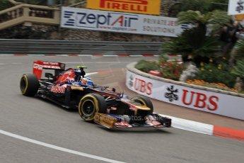 © Octane Photographic Ltd. 2012. F1 Monte Carlo - Practice 2. Thursday 24th May 2012. Jean-Eric Vergne - Toro Rosso. Digital Ref : 0352cb7d8111