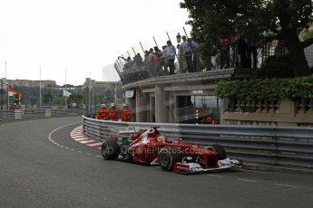 © Octane Photographic Ltd. 2012. F1 Monte Carlo - Practice 2. Thursday 24th May 2012. Fernando Alonso - Ferrari. Digital Ref : 0352cb7d8220