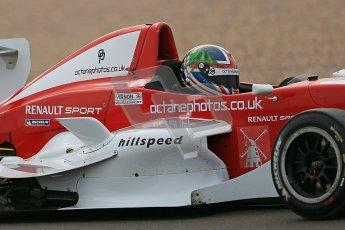© Octane Photographic Ltd. 2012. Donington Park. Saturday 18th August 2012. Formula Renault BARC Qualifying session. Kieran Vernon - Hillspeed. Digital Ref : 0460cb1d2360