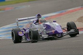 © Octane Photographic Ltd. 2012. Donington Park. Saturday 18th August 2012. Formula Renault BARC Qualifying session. Josh Webster - MGR Motorsport. Digital Ref : 0460cb1d2398