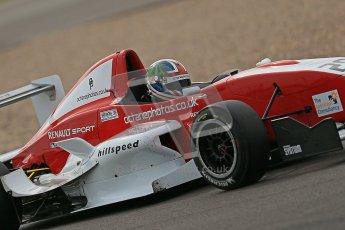© Octane Photographic Ltd. 2012. Donington Park. Saturday 18th August 2012. Formula Renault BARC Qualifying session. Kieran Vernon - Hillspeed. Digital Ref : 0460cb1d2425