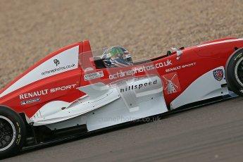 © Octane Photographic Ltd. 2012. Donington Park. Saturday 18th August 2012. Formula Renault BARC Qualifying session. Kieran Vernon - Hillspeed. Digital Ref : 0460cb1d2587
