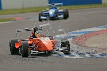 © Octane Photographic Ltd. 2012. Donington Park. Saturday 18th August 2012. Formula Renault BARC Qualifying session. Seb Morris - Fortec Motorsports. Digital Ref : 0460cb1d2839