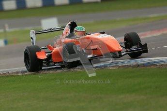 © Octane Photographic Ltd. 2012. Donington Park. Saturday 18th August 2012. Formula Renault BARC Qualifying session. Seb Morris - Fortec Motorsports. Digital Ref : 0460cb1d3071