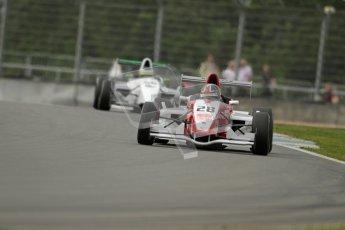 © Octane Photographic Ltd. 2012. Donington Park. Saturday 18th August 2012. Formula Renault BARC Qualifying session. Kieran Vernon - Hillspeed. Digital Ref : 0460lw7d0755