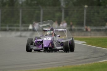 © Octane Photographic Ltd. 2012. Donington Park. Saturday 18th August 2012. Formula Renault BARC Qualifying session. Josh Webster - MGR Motorsport. Digital Ref : 0460lw7d0810