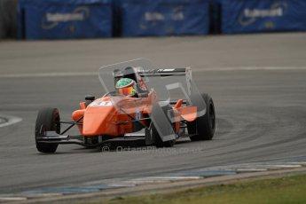 © Octane Photographic Ltd. 2012. Donington Park. Saturday 18th August 2012. Formula Renault BARC Qualifying session. Seb Morris - Fortec Motorsports. Digital Ref : 0460lw7d1179