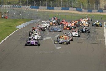 © Octane Photographic Ltd. 2012. Donington Park. Saturday 18th August 2012. Formula Renault BARC Race 1. Digital Ref : 0462lw7d1350