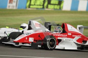 © Octane Photographic Ltd. 2012. Donington Park. Saturday 18th August 2012. Formula Renault BARC Race 1. Kieran Vernon - Hillspeed. Digital Ref : 0462lw7d1373