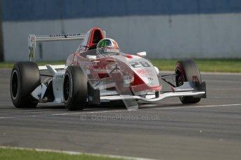© Octane Photographic Ltd. 2012. Donington Park. Saturday 18th August 2012. Formula Renault BARC Race 1. Kieran Vernon - Hillspeed. Digital Ref : 0462lw7d1544