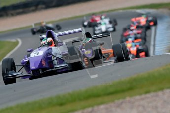 © Chris Enion/Octane Photographic Ltd. 2012. Donington Park. Sunday 19th August 2012. Formula Renault BARC Race 2. Josh Webster - MGR Motorsport. Digital Ref : 0463ce1d0189