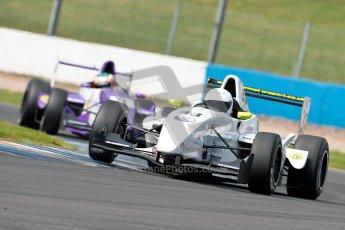 © Chris Enion/Octane Photographic Ltd. 2012. Donington Park. Sunday 19th August 2012. Formula Renault BARC Race 2. David Wagner and Josh Webster - MGR Motorsport. Digital Ref : 0463ce1d0217