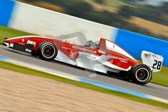 © Chris Enion/Octane Photographic Ltd. 2012. Donington Park. Sunday 19th August 2012. Formula Renault BARC Race 2. Kieran Vernon - Hillspeed. Digital Ref : 0463ce7d0722