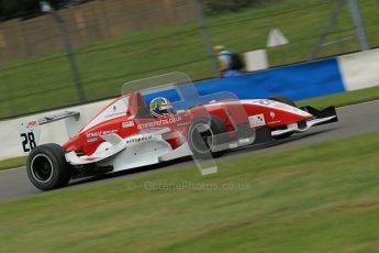 © Octane Photographic Ltd. 2012. Donington Park. Sunday 19th August 2012. Formula Renault BARC Race 2. Kieran Vernon - Hillspeed. Digital Ref : 0463lw1d3387