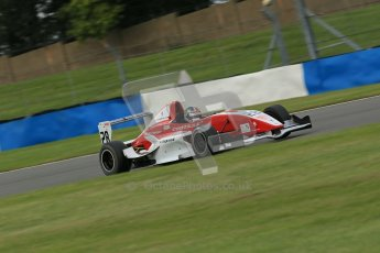 © Octane Photographic Ltd. 2012. Donington Park. Sunday 19th August 2012. Formula Renault BARC Race 2. Kieran Vernon - Hillspeed. Digital Ref : 0463lw1d3428