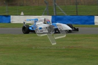 © Octane Photographic Ltd. 2012. Donington Park. Sunday 19th August 2012. Formula Renault BARC Race 2. Diego Menchaca - Fortec Motorsports. Digital Ref : 0463lw1d3445