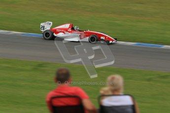 © Octane Photographic Ltd. 2012. Donington Park. Sunday 19th August 2012. Formula Renault BARC Race 2. Kieran Vernon - Hillspeed. Digital Ref : 0463lw1d3478