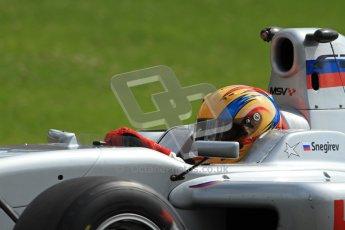 © Octane Photographic Ltd. 2012. FIA Formula 2 - Brands Hatch - Sunday 15th July 2012 - Qualifying 2 - Max Snegirev. Digital Ref : 0407lw7d2358