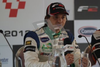 Octane Photographic Ltd. 2012. FIA Formula 2 - Brands Hatch - Sunday 15th July 2012 - Qualifying 2 - Mihai Marinescu. Digital Ref : 0407lw7d9306