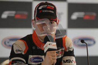 © Octane Photographic Ltd. 2012. FIA Formula 2 - Brands Hatch - Sunday 15th July 2012 - Qualifying 2 - Markus Pommer. Digital Ref : 0407lw7d9352