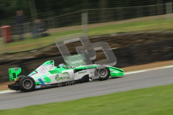 © Octane Photographic Ltd. 2012. FIA Formula 2 - Brands Hatch - Saturday 14th July 2012 - Qualifying - Mihai Marinescu. Digital Ref : 0403lw7d8057