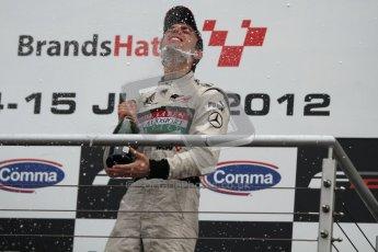 © Octane Photographic Ltd. 2012. FIA Formula 2 - Brands Hatch - Sunday 15th July 2012 - Race 2 - Dino Zamparelli. Digital Ref : 0408lw7d0177