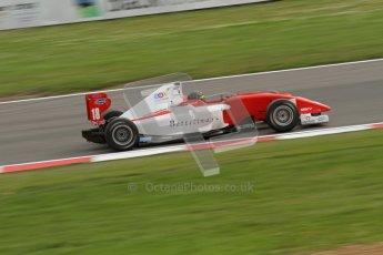 © Octane Photographic Ltd. 2012. FIA Formula 2 - Brands Hatch - Sunday 15th July 2012 - Race 2 - Dino Zamparelli. Digital Ref :