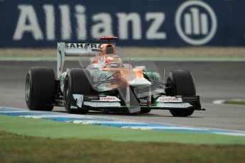 © 2012 Octane Photographic Ltd. German GP Hockenheim - Friday 20th July 2012 - F1 Practice 1. Force India VJM05 - Paul di Resta. Digital Ref : 0410lw1d3817