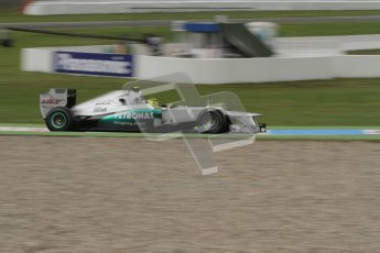 © 2012 Octane Photographic Ltd. German GP Hockenheim - Friday 20th July 2012 - F1 Practice 1. Mercedes W03 - Nico Rosberg. Digital Ref : 0410lw7d0395