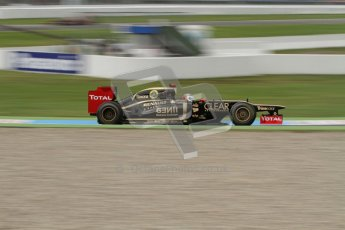 © 2012 Octane Photographic Ltd. German GP Hockenheim - Friday 20th July 2012 - F1 Practice 1. Lotus E20 - Kimi Raikkonen. Digital Ref : 0410lw7d0412