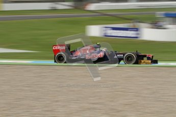 © 2012 Octane Photographic Ltd. German GP Hockenheim - Friday 20th July 2012 - F1 Practice 1. Toro Rosso STR7 - Jean-Eric Vergne. Digital Ref : 0410lw7d0562