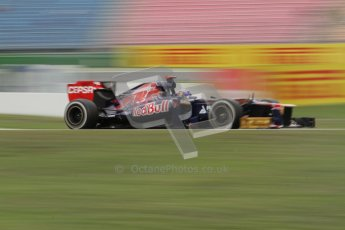 © 2012 Octane Photographic Ltd. German GP Hockenheim - Friday 20th July 2012 - F1 Practice 1. Toro Rosso STR7 - Daniel Ricciardo. Digital Ref : 0410lw7d0644