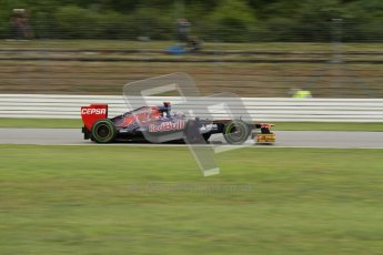 © 2012 Octane Photographic Ltd. German GP Hockenheim - Friday 20th July 2012 - F1 Practice 2. Toro Rosso STR7 - Daniel Ricciardo. Digital Ref : 0411lw7d1405