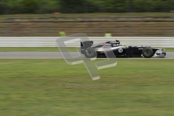 © 2012 Octane Photographic Ltd. German GP Hockenheim - Friday 20th July 2012 - F1 Practice 2. Williams FW34 - Bruno Senna. Digital Ref : 0411lw7d1493