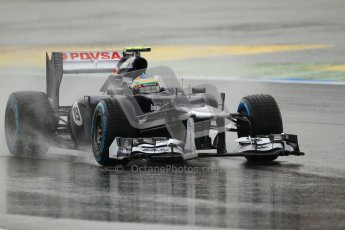 © 2012 Octane Photographic Ltd. German GP Hockenheim - Friday 20th July 2012 - F1 Practice 1. Williams FW34 - Bruno Senna. Digital Ref : 0411lw7d5070