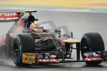 © 2012 Octane Photographic Ltd. German GP Hockenheim - Friday 20th July 2012 - F1 Practice 1. Toro Rosso STR7 - Jean-Eric Vergne. Digital Ref : 0411lw7d5081