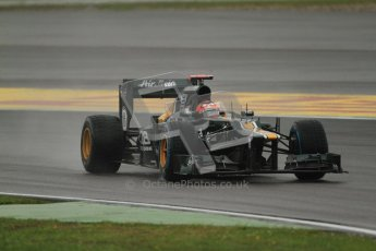 © 2012 Octane Photographic Ltd. German GP Hockenheim - Friday 20th July 2012 - F1 Practice 2. Caterham CT01 - Heikki Kovalainen. Digital Ref : 0411lw7d5378