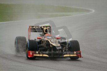 © 2012 Octane Photographic Ltd. German GP Hockenheim - Friday 20th July 2012 - F1 Practice 2. Lotus E20 - Romain Grosjean. Digital Ref : 0411lw7d5505
