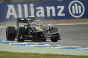© 2012 Octane Photographic Ltd. German GP Hockenheim - Friday 20th July 2012 - F1 Practice 2. Caterham CT01 - Vitaly Petrov. Digital Ref :