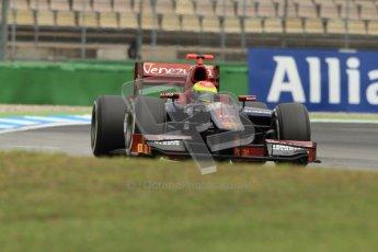 © 2012 Octane Photographic Ltd. German GP Hockenheim - Friday 20th July 2012 - GP2 Practice 1 - Venezuela GP Lazarus - Sergio Canamasas. Digital Ref : 0412lw7d4555