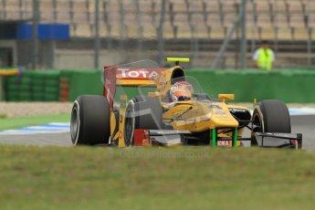 © 2012 Octane Photographic Ltd. German GP Hockenheim - Friday 20th July 2012 - GP2 Practice 1 - Dams - Felipe Nasr. Digital Ref : 0412lw7d4624