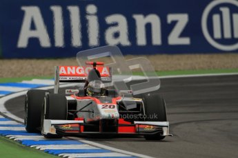 © 2012 Octane Photographic Ltd. German GP Hockenheim - Friday 20th July 2012 - GP2 Practice 1 - Rapax - Tom Dillmann. Digital Ref : 0412lw7d4673