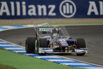© 2012 Octane Photographic Ltd. German GP Hockenheim - Friday 20th July 2012 - GP2 Practice 1 - Trident Racing - Julian Leal. Digital Ref : 0412lw7d4745