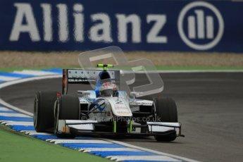 © 2012 Octane Photographic Ltd. German GP Hockenheim - Friday 20th July 2012 - GP2 Practice 1 - Barwa Addax team - Josef Kral. Digital Ref : 0412lw7d4814