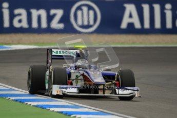 © 2012 Octane Photographic Ltd. German GP Hockenheim - Friday 20th July 2012 - GP2 Practice 1 - Trident Racing - Julian Leal. Digital Ref : 0412lw7d4824